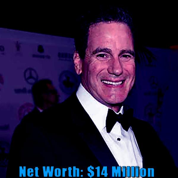 Image of Vanna White's ex-husband George Santo Pietro net worth is $14 million