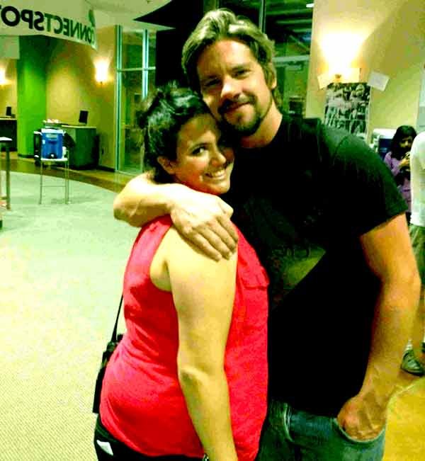 Image of Hang Knighton with her ex-husband Zachary Knighton