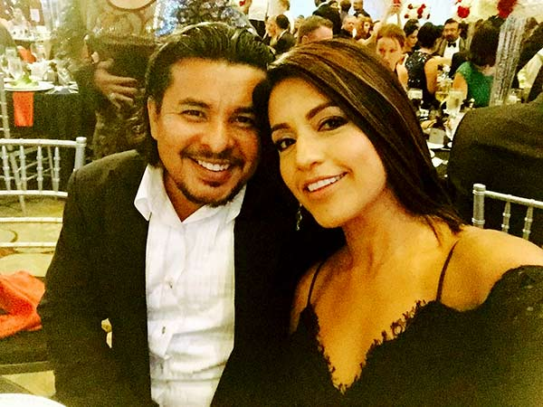 Image of Sylvia Zarate with Husband Jacob Vargus
