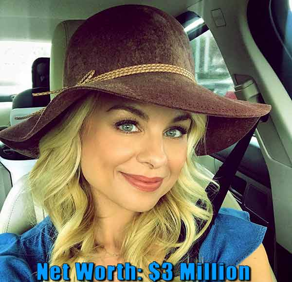 Image of Actor, Jessica Collins net worth is $3 million