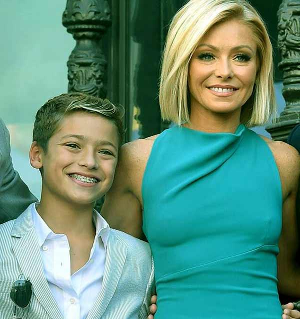 Image of Joaquin Antonio Consuelos son of Kelly Ripa