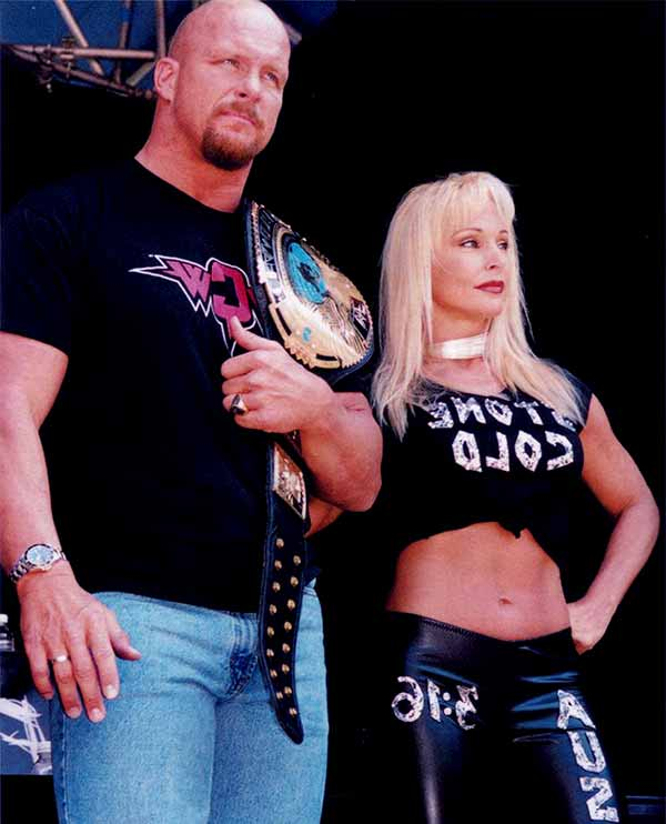 Image of Steven Anderson with his ex-wife Debra Marshall.