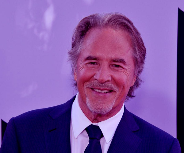 Image of American actor, Don Johnson