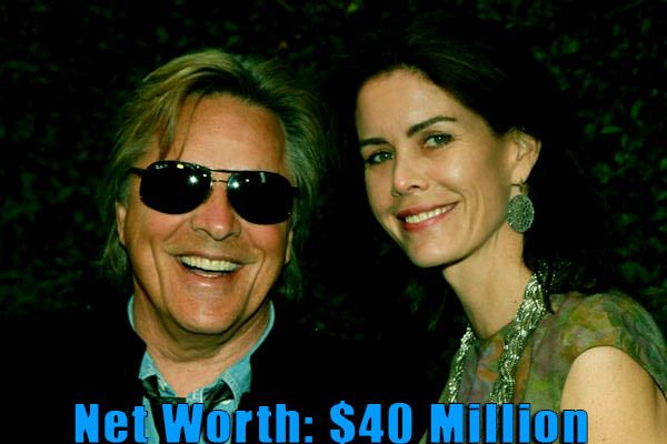 Image of Kelley Phleger net worth is $40 million with her husband, Don Johnson