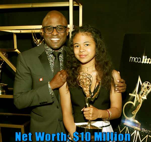 Image of Maile Masako Brady father Wayne Brady net worth is $10 million