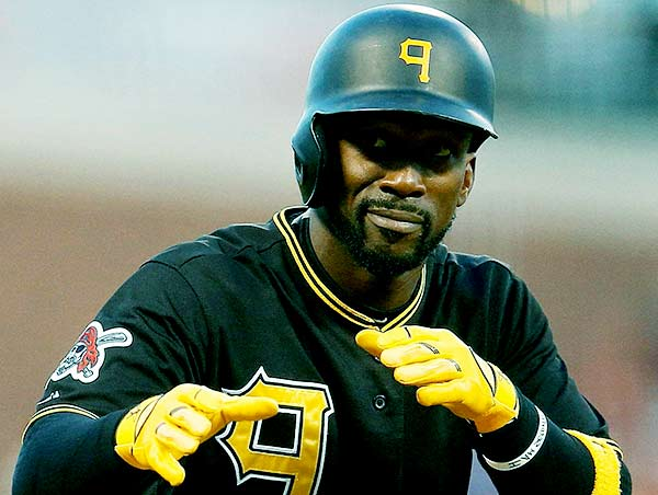 Image of Baseball outfielder, Andrew McCutchen