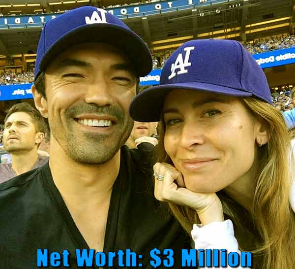 Image of Nicole Garippo husband Ian Anthony Dale net worth is $3 million