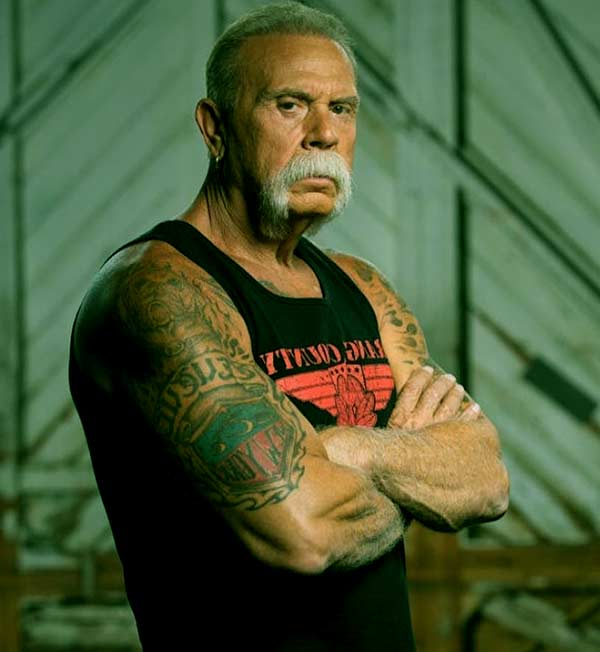 Image of Paul Teutul sr is still alive and healthy