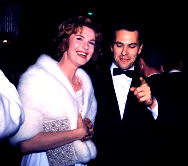 Image of Rip Torn with his second wife Geraldine Page