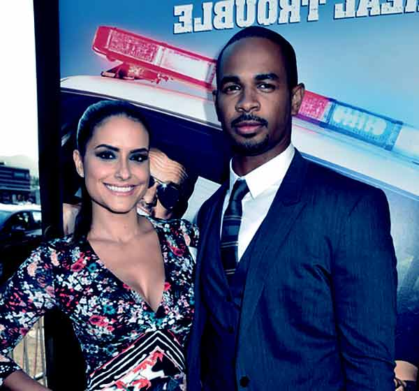 Image of Samara Saraiva with her husband Damon Wayans Jr