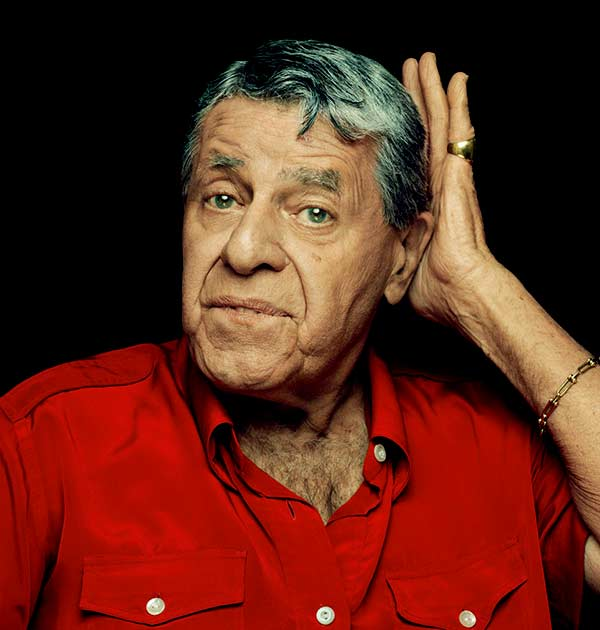Image of American comedian, Jerry Lewis
