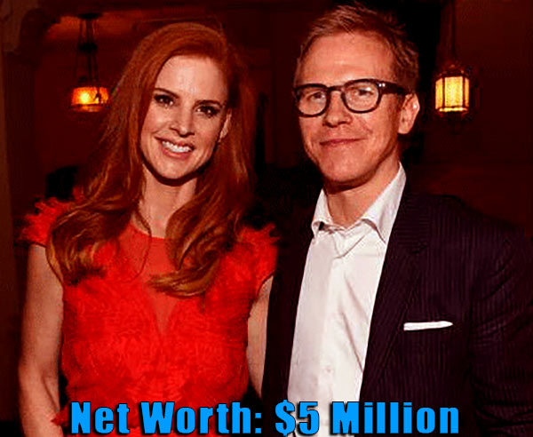 Image of Santtu Seppala with his wife Sarah Rafferty net worth is $5 million