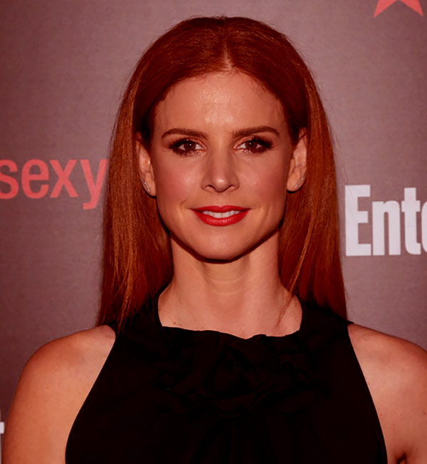 Image of Santtu Seppala's wife, actress Sarah Rafferty