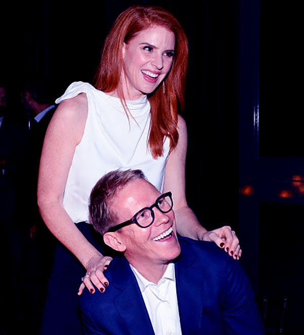 Image of Santtu Seppala with his spouse Sarah Rafferty