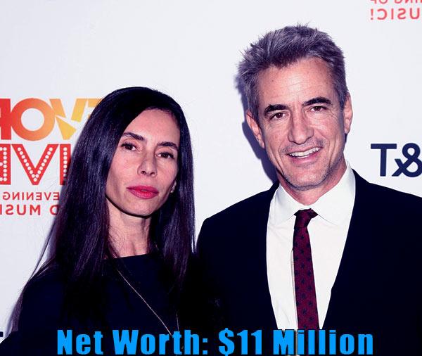 Image of Tharita Cesaroni's net worth from husband Dermot Mulroney is $11 million