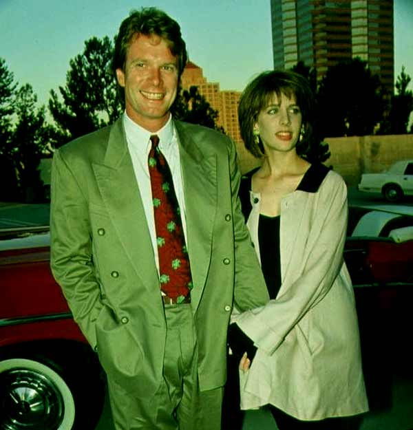 Image of Tracy Nelson with her ex-husband Billy Moses