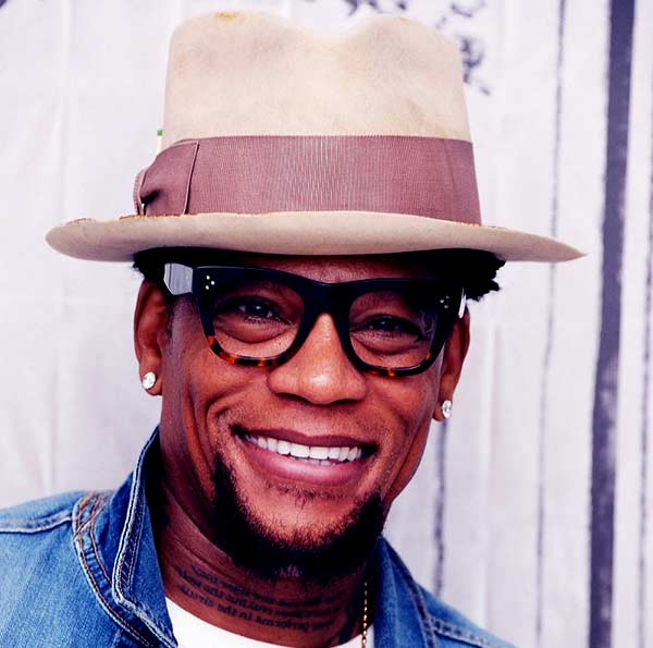Image of American radio host, D.L. Hughley