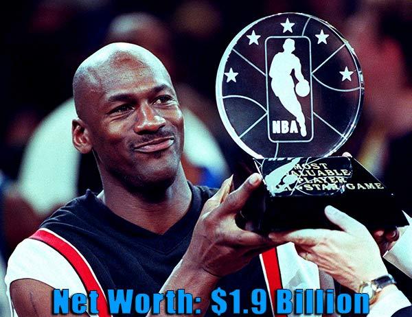 Image of Victoria Jordan father Michael Jordan with net worth of $1.9 billion