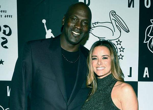 Image of Michael Jordan and wife Yvette Prieto, parents of Victoria Jordan (