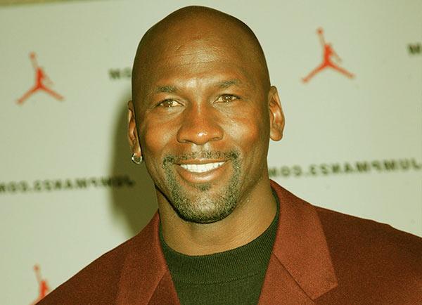 Image of American basketball player, Michael Jordan