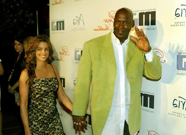 Image of Yvette Prieto with her husband Michael Jordan