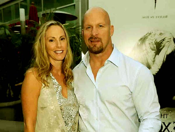 Image of Steven Anderson with his wife Kristin Austin