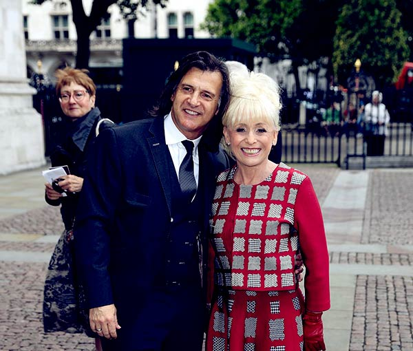 Image of Barbara Windsor with her husband Scott Mitchell.
