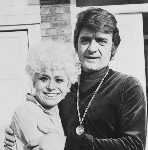 Image of Barbara Knights with her first husband Ronnie Knight