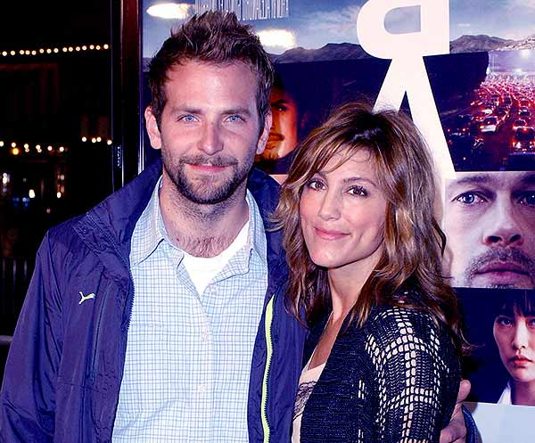 Image of Bradley Cooper with his ex-wife Jennifer Esposito
