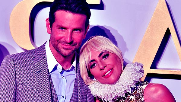 Image of Bradley Cooper dating with Lady Gaga