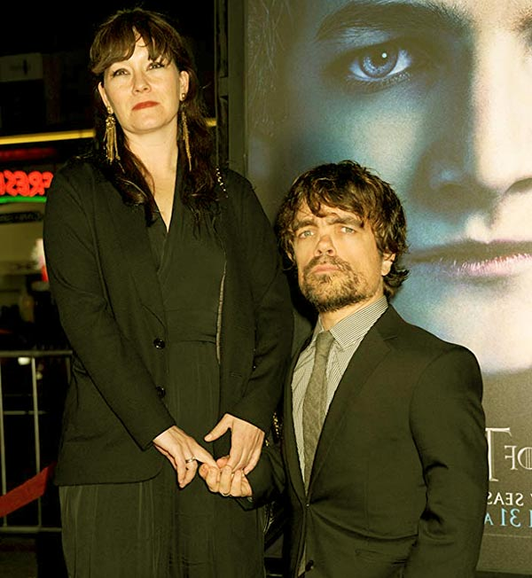 Image of Erica Schmidt with her husband Peter Dinklage