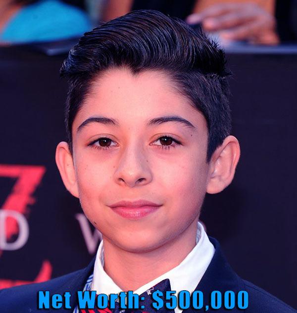 Image of Actor, Fabrizio Zacharee Guido net worth and salary