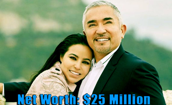 Image of Jahira Dar husband Ceaser Millan net worth is $25 million
