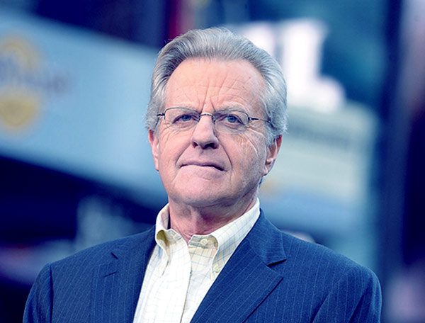 Image of TV Personality, Jerry Springer