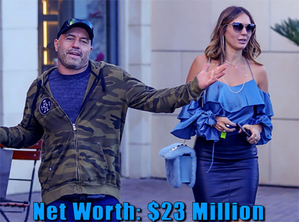 Image of Jessica Schimmel Rogan husband Joe Rogan net worth is $23 million