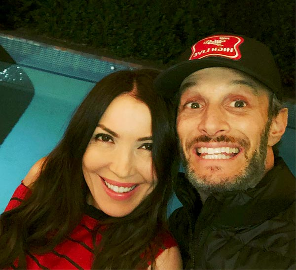 Image of Josh Wolf with his wife Bethany Ashton Wolf
