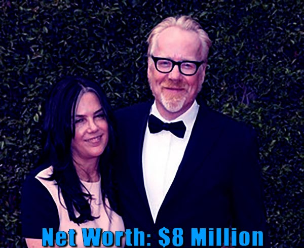 Image of Julia Savage husband Adam Savage net worth and salary