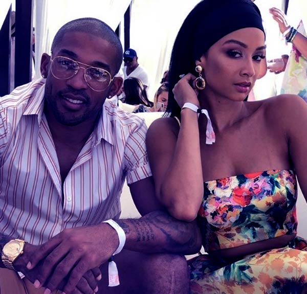 Image of Draya Michele married life with her fiancé Orlando Scandrick.