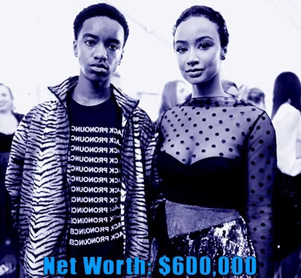 Image of Kniko Howard mother Draya Michele net worth is $600,000