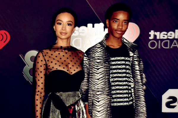 Image of Kniko Howard with his mother Draya Michele