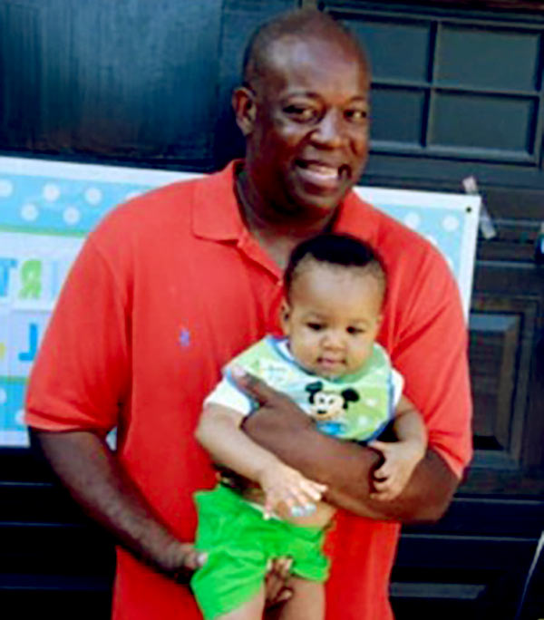 Image of Lamar Sally with his son Lamar Sally Jr