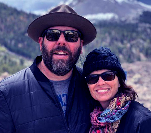 Image of Married life of LeeAnn Kreischer with her husband Bert Kreischer