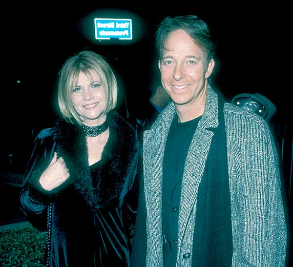 Image of Markie Post with her ex-husband Michael A. Ross