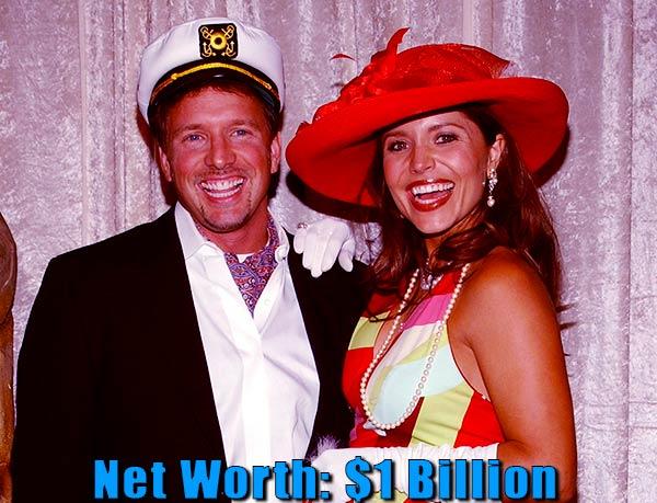 Image of Mindy Burbano husband Glenn Stearns net worth is $1 billion