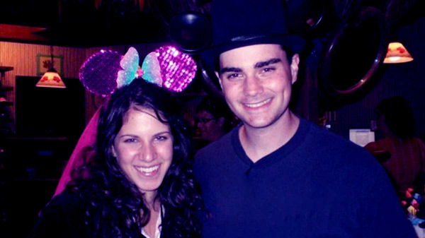 Image of Mor Shapiro with her husband Ben Shapiro