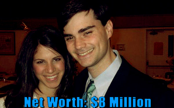 Image of Mor Shapiro husband Ben Shapiro net worth is $8 million