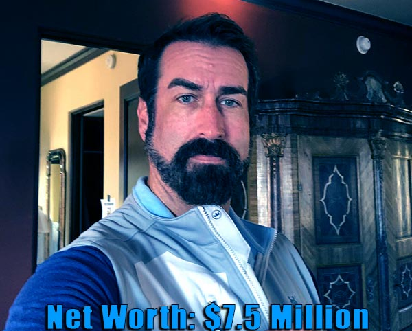 Image of American actor, Rob Riggle net worth and salary