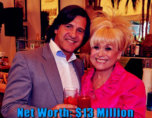 Image of Scott Mitchell wife Barbara Windsor net worth is $13 million