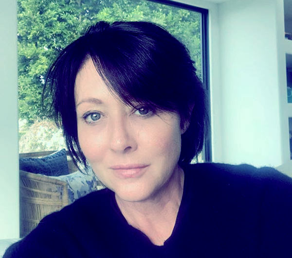 Image of Shannen Doherty from the American TV series, Beverly Hills 90210