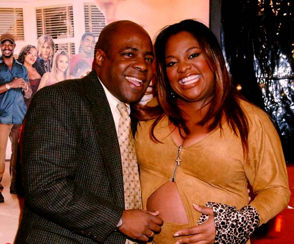 Image of Sherri Shepherd with her ex-husband Jeff Tarpley